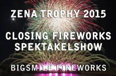 Zena Trophy 2015: Closing Fireworks – Spektakelshow – Vuurwerk – Feuerwerk