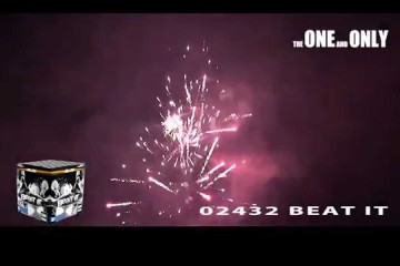 02432 Beat it – The One and Only – Lesli Vuurwerk