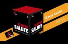 Slayer salute – PyroBase – Lesli Vuurwerk