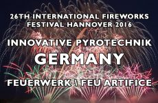 Int. Fireworks Festival Hannover 2016: Innovative Pyrotechnik – Germany – Feu Artifice – Feuerwerk