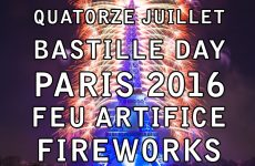 Paris 2016 Feu d'artifice – Tour Eiffel Quatorze Juillet Fireworks – 14 july